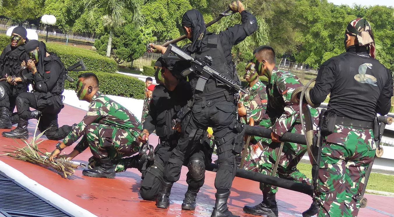 Indonesian Troop